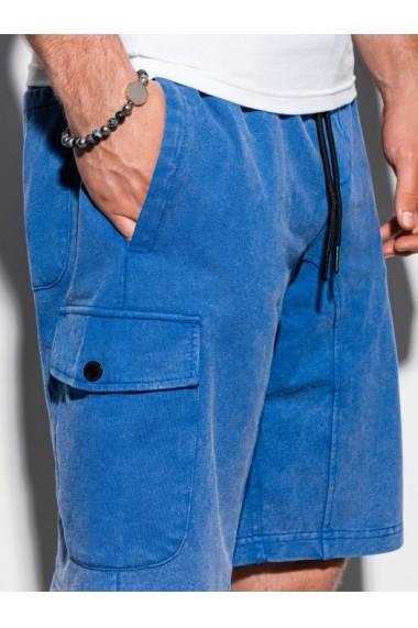 Pantaloni scurti barbati W225 - albastru
