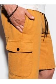 Pantaloni scurti barbati W225 - galben