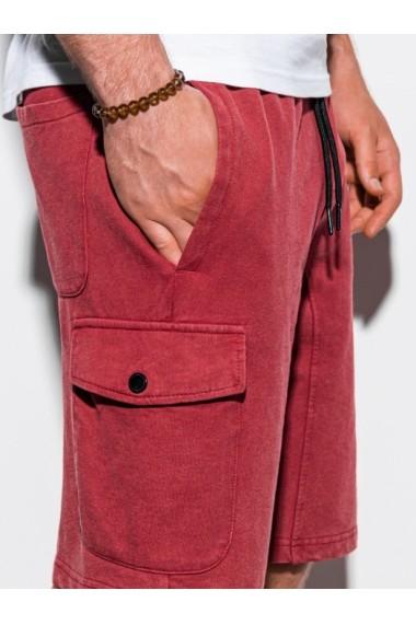 Pantaloni scurti barbati W225 - rosu