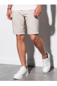 Pantaloni scurti barbati W243 - bej-deschis