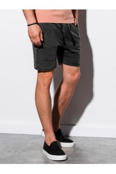 Pantaloni scurti barbati W223 - negru