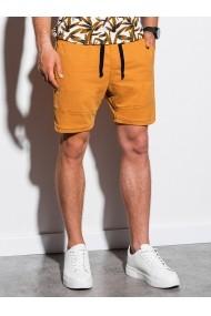 Pantaloni scurti barbati W223 - galben
