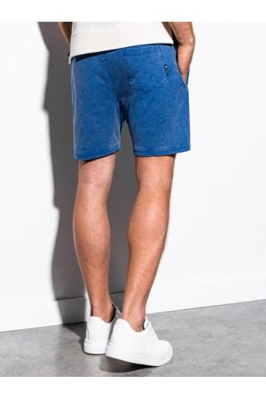 Pantaloni scurti barbati W223 - albastru