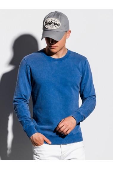 Bluza barbati B1023 - albastru