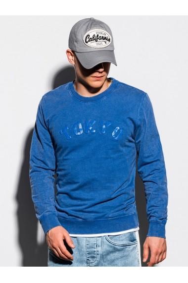 Bluza barbati B1024 - albastru