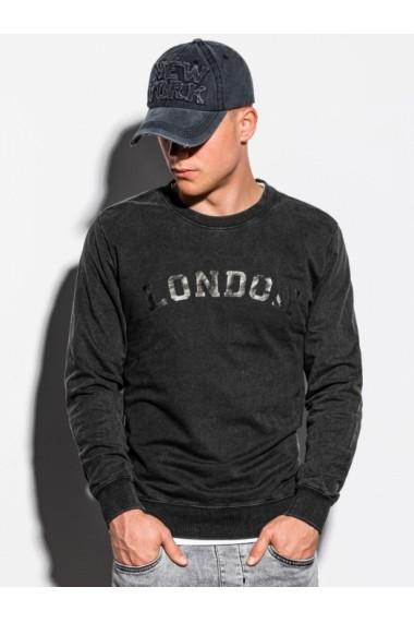 Bluza barbati B1025 - negru