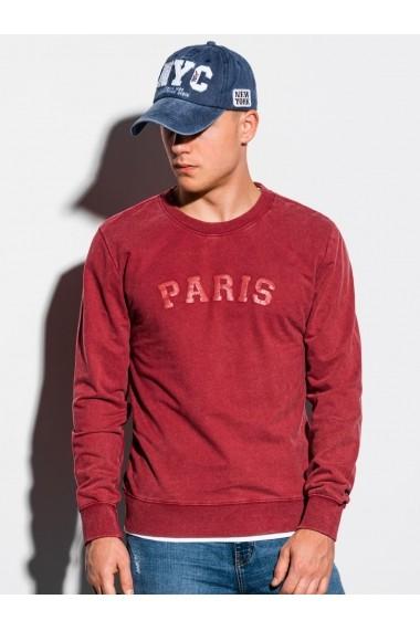 Bluza barbati B1027 - rosu