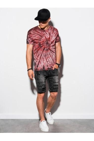 Tricou barbati S1335 - rosu