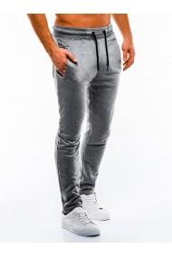 Pantaloni de trening barbati - P866-gri-deschis