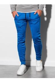 Pantaloni de trening barbati - P867-albastru