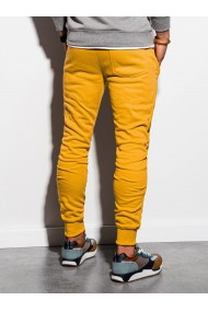 Pantaloni de trening barbati - P867-galben