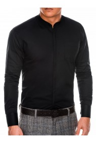 Camasa eleganta barbati K307 - negru
