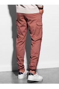 Pantaloni premium barbati P893 - portocaliu