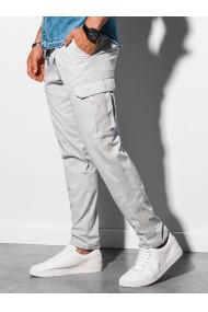 Pantaloni premium barbati P893 - gri