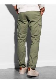 Pantaloni premium barbati P893 - verde
