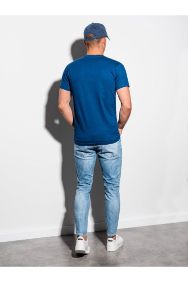 Tricou barbati S884 - bleumarin