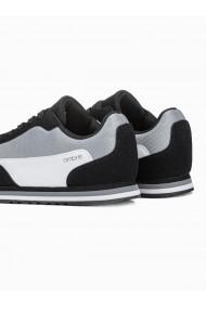 Adidasi casual barbati - T349 - negru