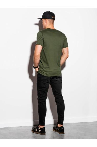 Tricou barbati S884 - verde