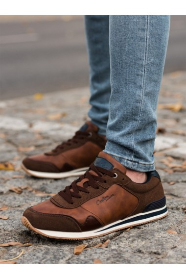 Sneakers casual barbati - T332 - maro