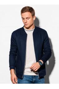 Bluza casual barbati B1095 - bleumarin