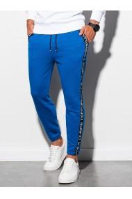 Pantaloni de trening barbati - P899 - albastru