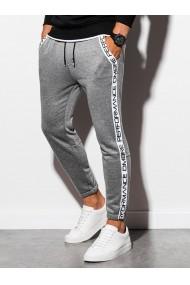 Pantaloni de trening barbati - P899 - gri