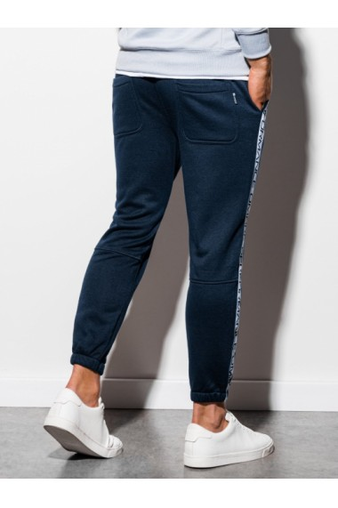 Pantaloni de trening barbati - P899 - bleumarin