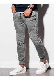 Pantaloni de trening barbati - P900 - gri