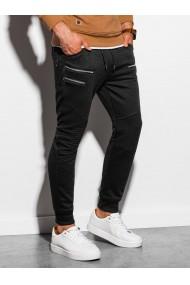 Pantaloni de trening barbati - P900 - negru