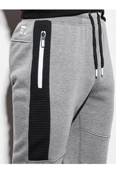 Pantaloni de trening barbati - P903 - gri