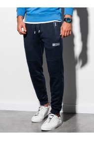 Pantaloni de trening barbati - P902 - bleumarin