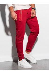Pantaloni de trening barbati - P902 - rosu