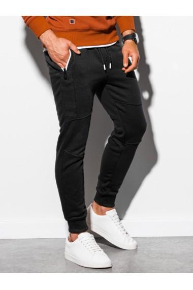 Pantaloni de trening barbati - P903 - negru