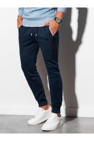 Pantaloni de trening barbati - P903 - bleumarin