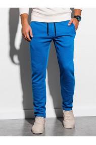 Pantaloni de trening barbati - P866-albastru-deschis
