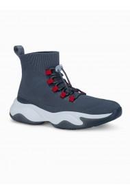 Sneakers casual barbati T355 - gri