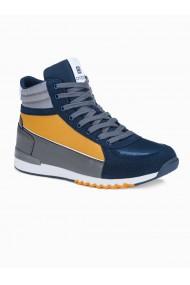 Sneakers casual barbati T358 - bleumarin