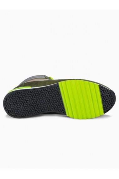 Sneakers casual barbati T358 - khaki