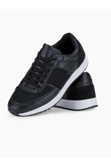 Adidasi casual barbati - T361 - negru