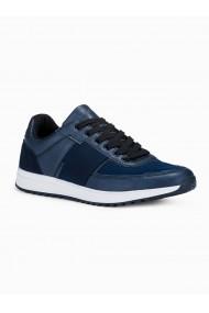 Adidasi casual barbati - T361 - bleumarin