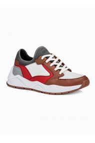 Sneakers casual barbati T363 - maro