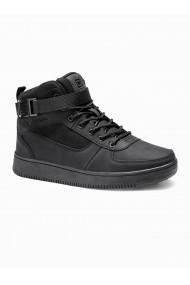 Sneakers barbati T317-negru