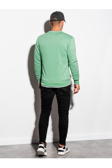Bluza barbati B978 - verde-deschis