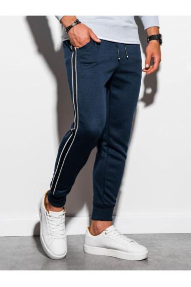 Pantaloni de trening barbati - P898 - bleumarin