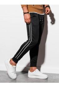 Pantaloni de trening barbati - P898 - negru