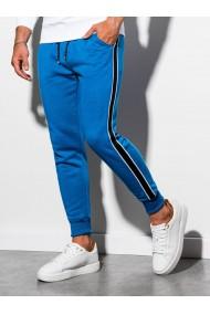 Pantaloni de trening barbati - P898 - albastru