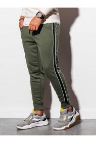 Pantaloni de trening barbati - P898 - verde