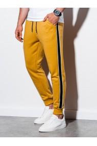 Pantaloni de trening barbati - P898 - galben