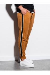 Pantaloni de trening barbati - P898 - camel