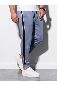 Pantaloni de trening barbati - P898 - albastru-deschis